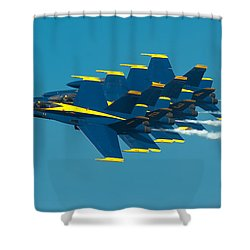 Formation Shower Curtain by Sebastian Musial