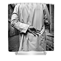 Four Shower Curtain by Dave Bowman