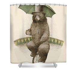 Frederick Shower Curtain by Eric Fan