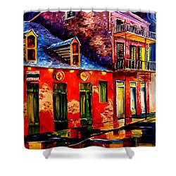 French Quarter Dazzle Shower Curtain by Diane Millsap