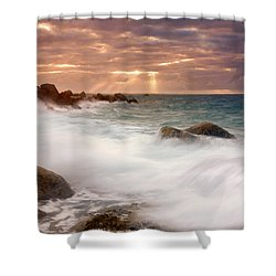 From Above Shower Curtain by Mike  Dawson