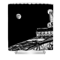 From Paris With Love Shower Curtain by Az Jackson