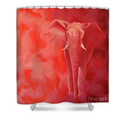 From The Past Shower Curtain by Brian  Commerford
