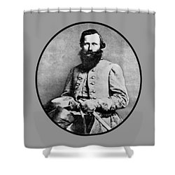 General Jeb Stuart Shower Curtain by War Is Hell Store