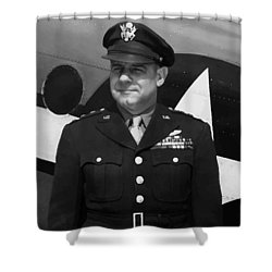 General Jimmy Doolittle Shower Curtain by War Is Hell Store