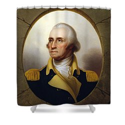 General Washington Shower Curtain by War Is Hell Store