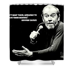 George Shower Curtain by Pd George