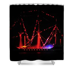 Ghosts Of Gasparilla Shower Curtain by David Lee Thompson