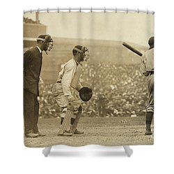 Giants Versus Pirates Shower Curtain by American School