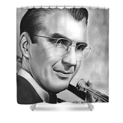 Glenn Miller Shower Curtain by Greg Joens