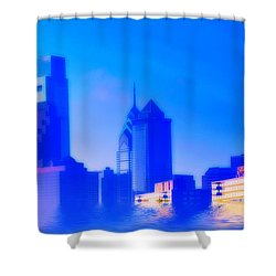 Global Warming Shower Curtain by Bill Cannon