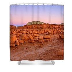 Goblin Glow Shower Curtain by Mike  Dawson