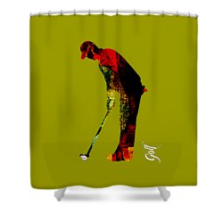 Golf Collection Shower Curtain by Marvin Blaine