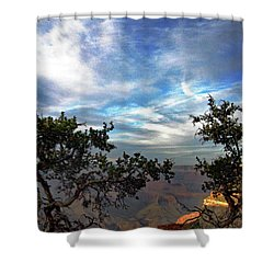 Grand Canyon No. 4 Shower Curtain by Sandy Taylor