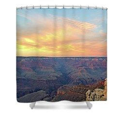 Grand Canyon No. 5 Shower Curtain by Sandy Taylor