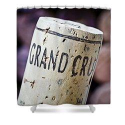 Grand Cru Shower Curtain by Frank Tschakert