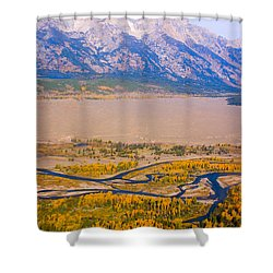 Grand Tetons Views Shower Curtain by James BO  Insogna
