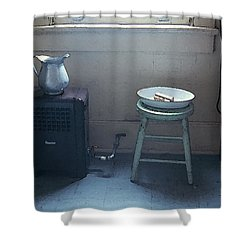 Grandma's Bathroom Shower Curtain by KG Thienemann