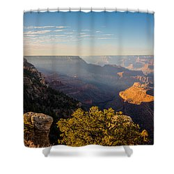 Grandview Sunset - Grand Canyon National Park - Arizona Shower Curtain by Brian Harig