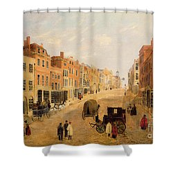 Guildford High Street Shower Curtain by English School
