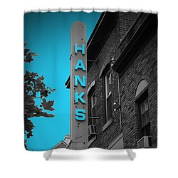 Hanks Oyster Bar Shower Curtain by Jost Houk