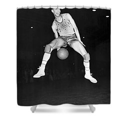 Harlem Clowns Basketball Shower Curtain by Underwood Archives