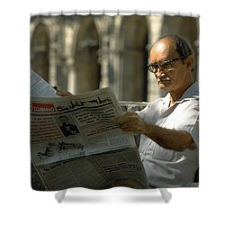 Shower Curtain featuring the photograph Havana by Travel Pics