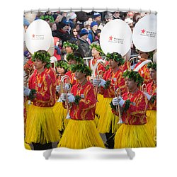 Hawaii All-state Marching Band I Shower Curtain by Clarence Holmes
