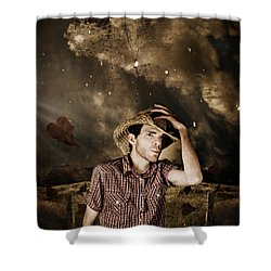 Heartland Of Outback Country Australia Shower Curtain by Jorgo Photography - Wall Art Gallery