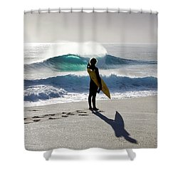 Heaven On A Stick. Shower Curtain by Sean Davey