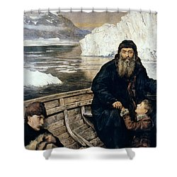 Henry Hudson And Son Shower Curtain by Granger