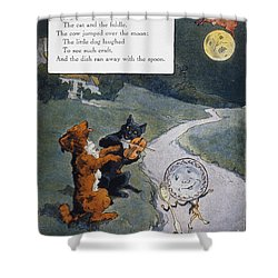 High Diddle Diddle Shower Curtain by Granger