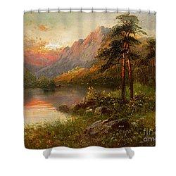 Highland Solitude Shower Curtain by Frank Hider