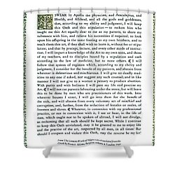 Hippocratic Oath, 1938 Shower Curtain by Science Source