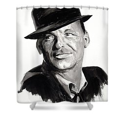 His Way Shower Curtain by Dan McCole