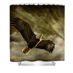 Honor Bound Shower Curtain by Lois Bryan