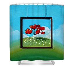 Hope Shower Curtain by Cindy Thornton