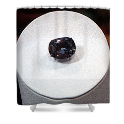 Hope Diamond 45.52 Carats Shower Curtain by LeeAnn McLaneGoetz McLaneGoetzStudioLLCcom