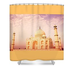 Hot Taj Mahal Shower Curtain by Nila Newsom