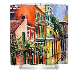 House Of The Rising Sun Shower Curtain by Diane Millsap