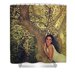 Humanize Shower Curtain by Laurie Search