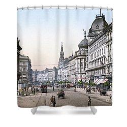Hungary: Budapest, C1895 Shower Curtain by Granger