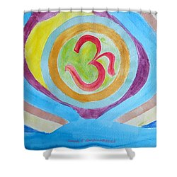 I Am Existence Shower Curtain by Sonali Gangane