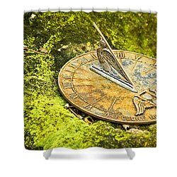 I Count None But Sunny Hours Shower Curtain by Carolyn Marshall
