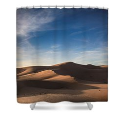 I'd Walk A Thousand Miles Shower Curtain by Laurie Search