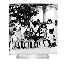 In The Amazon 1953 Shower Curtain by W E Loft
