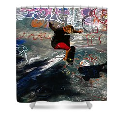 In The Moment Shower Curtain by David Lee Thompson