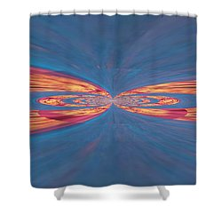 In Touch Shower Curtain by Kathy Bucari