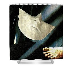 Intrusion Shower Curtain by Sarah Loft