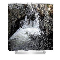 Irish Waterfall Shower Curtain by Patrick J Murphy